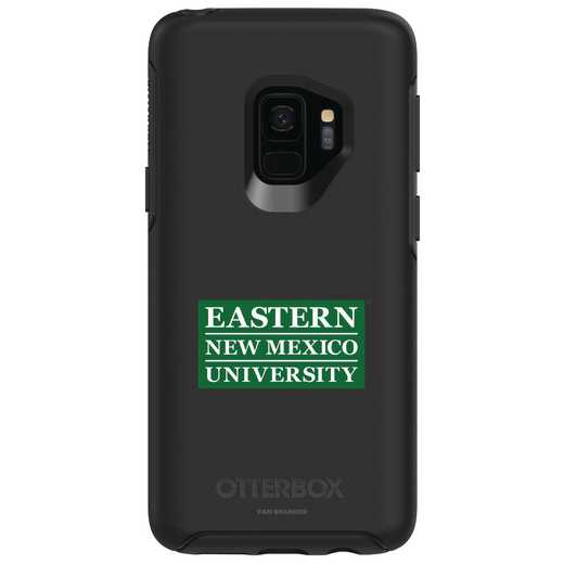 GAL-S9-BK-SYM-ENMU-D101: FB Eastern New Mexico OB SYMMETRY Case for Galaxy S9